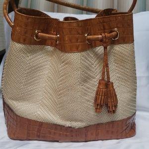 Brahmin medium Drawstring bag